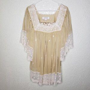 Badgley Mischka American Glamour Top Size 1X